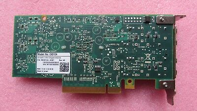 MCX312A-XCBT MELLANOX dual port 10GbE CONNECTX-3 EN ETHERNET 8GT/s SFP+ QOS HCA