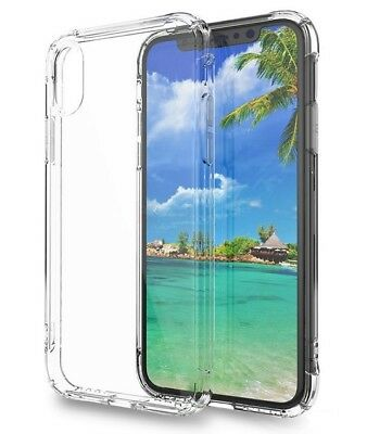 Funda para iPhone XR Gel antigolpes Transparente, esquina reforzada