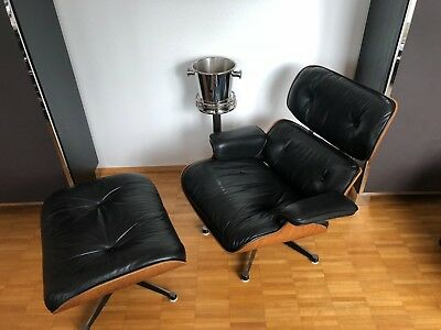 Eames Lounge Chair Mit Ottomane / Produktion Hermann Miller