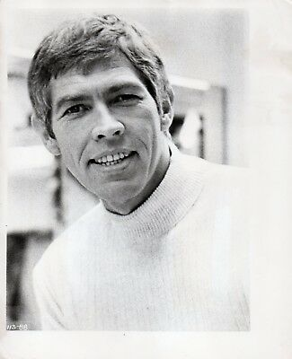"JAMES COBURN 51-YEAR-OLD ORIGINAL 8x10"" DATED VINTAGE PHOTO 1967"