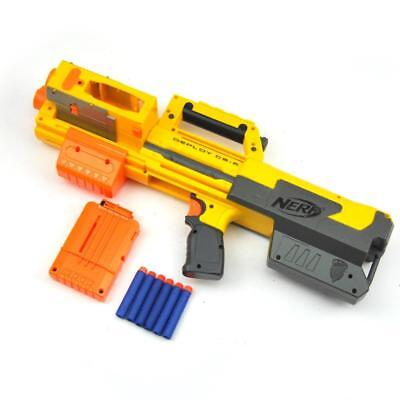 NERF Deploy CS-6 N Strike Elite Blaster With Red Dot Sight Clip and Darts