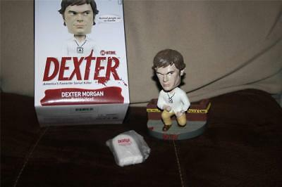 Dexter SOUND Keychain Series Bobblehead Showtime MINTY New Exclusive