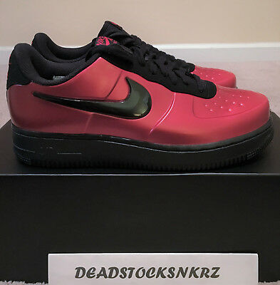 871f44884ff Nike AF1 Air Force 1 Foamposite Pro Cup Gym Red Black AJ3664 601 Men's  Sizes 8