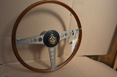 Original 1961 E-Type 3.8Ltr. Steering Wheel - mmoetwil@hotmail.com +32475277772