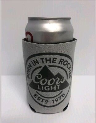 Coors Light Beer Logo Bottle Koozie Can Coozie Cooler Lot (2)