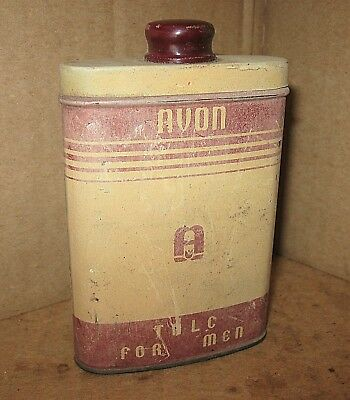 Vintage Talcum Powder AVON TALC FOR MEN TIN