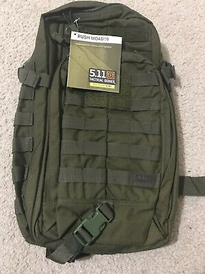 5.11 Tactical Rush Moab 10 Backpack-Tac OD-New With Tag