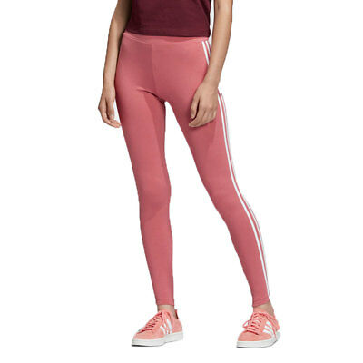 730932ac02002 ADIDAS ORIGINALS 3-STRIPES Women's Leggings Trace Maroon/White dh3167