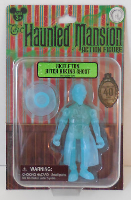 Disney 40TH Anniversary The Haunted Mansion Figure Skeleton Hitch Hiking Ghost
