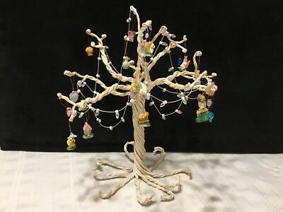 "12"" White Bendable Poseable Branch Easter Tree with Mini Ornaments  (S13)"