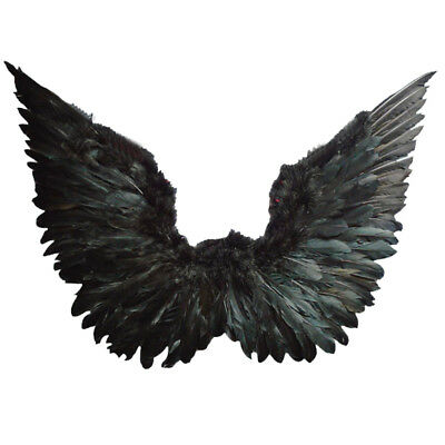 Large 120cm Angel Wings Feather Fairy Christmas Fancy Dress Costume Accessory