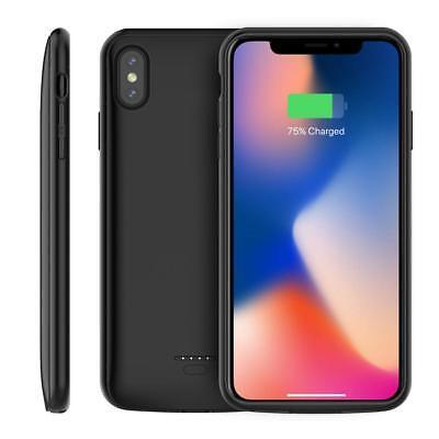 Slim Magnetic 5000mAh Battery Backup Charging Case Power Bank For iPhone XS Max