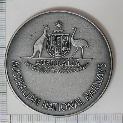 Australian National Railways Recognition Service in antiqued silver (3252238C7)