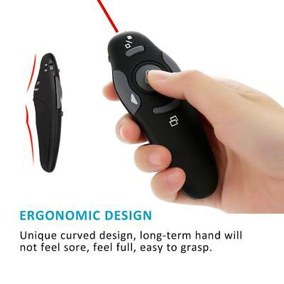 2.4GHz Wireless USB Remote Control Clicker Pointer PPT Presentation Lecture ABS
