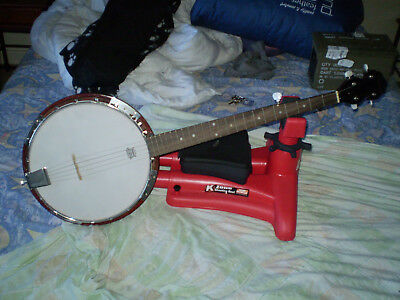 Banjo Karrera Remo Head 5 String with Gig Bag