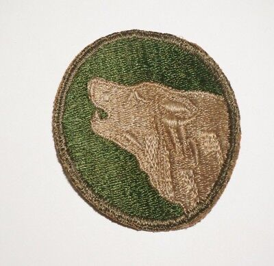 104th Infantry Division Patch WWII US Army P8080