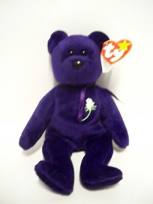 Rare PRINCESS DIANA Indonesian Beanie Baby personally signed by Paul Burrell
