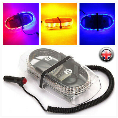 240 LED Car Roof Magnetic Light Hazard Warning Flash Strobe Lamp cckk