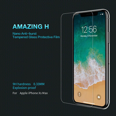 Nillkin Screen Protector Full Coverage 9H Tempered Glass For Apple iPhone XS Max
