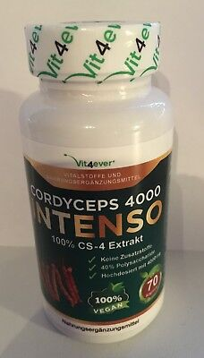 Cordyceps 4000 INTENSO CS-4 Extract - 70 capsules/2 capsules a day-Vit4ever