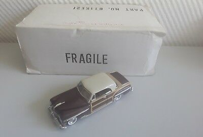 Franklin Mint Classic Cars of the Fifties Chrysler Woody Town and Country 1950.