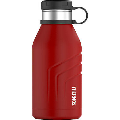 Thermos Element5 Stainless Steel Insulated Beverage Bottle w/ Screw Top 32oz Red