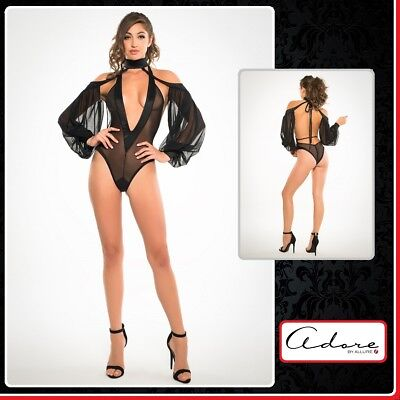 Sexy Body V Neck & Sleeves Adore Allure Lingerie Intimo donna Erotic sex toys