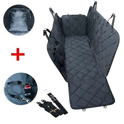 Pet Car Seat Cover Waterproof  Seatbelt Leash Storage Bag in Universal Size