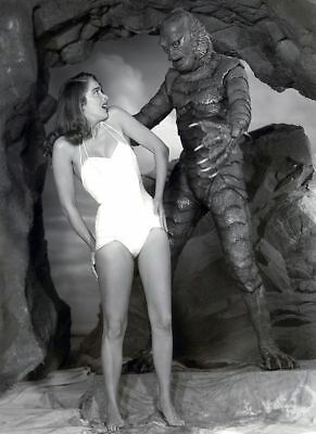 GLOSSY PHOTO PICTURE 8x10 Creature From The Black Lagoon 1954 Black & White