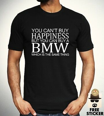 BMW Funny Parody T shirt Car Owner M Power Sport Racing Gift Top Mens S - 3XL