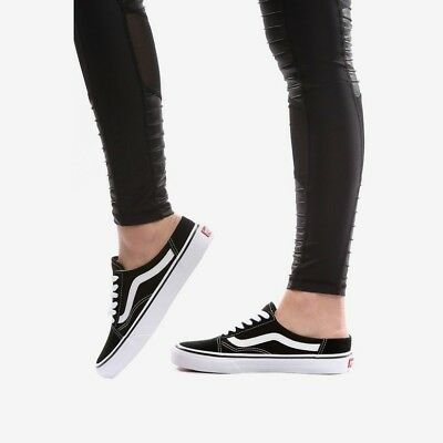 e61df905b5 Women s VANS - Old Skool Mule - Size 8.5 - Black and White - FREE SHIPPING