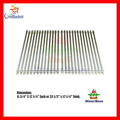 Stainless Steel Replacement BBQ Cooking Grates for Gas Grills Heavy Duty Parts