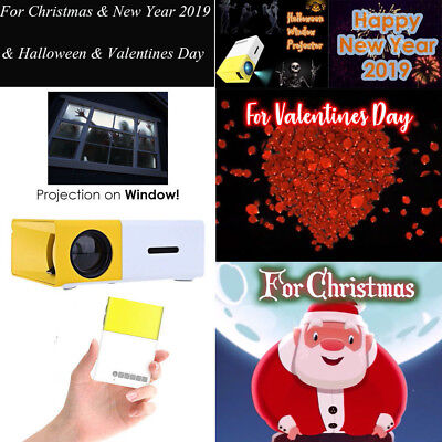 Halloween&Christmas Decoration Projector Special Effect Video FX Window Kit UK