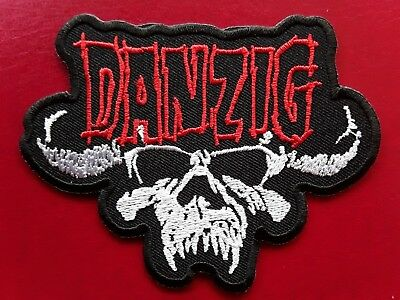 Danzig American Heavy Metal Misfits Rock Music Band Embroidered Patch Uk Seller