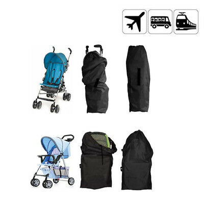 Baby Gate Check Travel Bag Umbrella Stroller Pushchair Buggy Waterproof Cover
