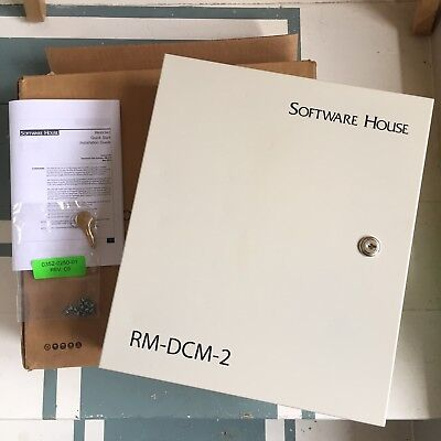 Software House RM DCM-2 Enclosure Door Control Module iStar RM-4E Tyco Security