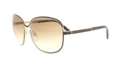 6f21cbccb0c Tom Ford Delphine TF 117 28F Brown   Gold   Brown Gradient Womens Sunglasses