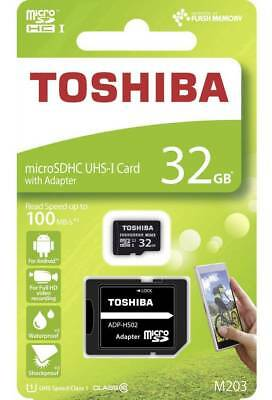 Toshiba 32GB Micro SD 100MB/s Memory card for LG K4 (2017) Mobile Phone