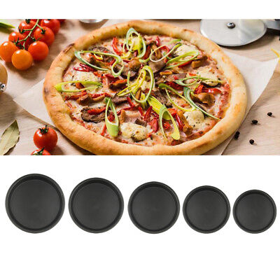 Nonstick Round DIY Pizza Tray Mould Pan Dish Plate Mold Kitchen Baking Tool
