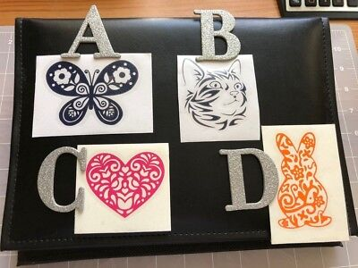 Vinyl Decals TRIBAL BUNNY/CAT/BUTTERFLY/HEART Choose Option/Size/Color