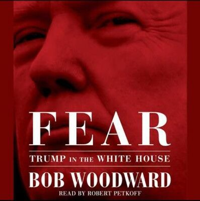 Fear Trump in the White House Audiobook By Bob Woodward MP3 Digital Download