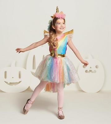 Kid GIRL Halloween Unicorn Costume FANCY DRESS Cosplay Party Book Week Suit Gift