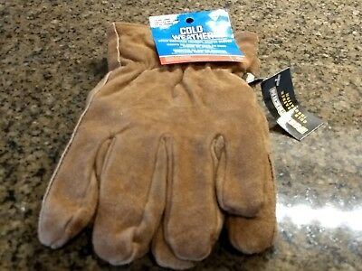 West-Chester-Cold-Weather-Split-Cowhide-Leather-Gloves-Men-039-s-XL