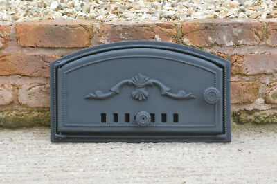 48 x 27 cm cast iron fire door clay bread oven doors pizza stove