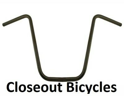 NEW ORIGINAL BICYCLE 330 FREE STYLE HANDLEBAR 22.2MM IN 2 COLORS!
