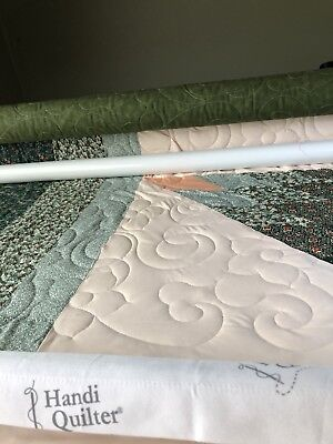 Long arm quilting service - Throw size quilt
