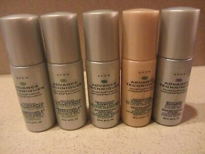 NEW-Avon-Lot of 1 or 2-Advance Techniques-Shampoos-Mini Travel Size-(You Choose)
