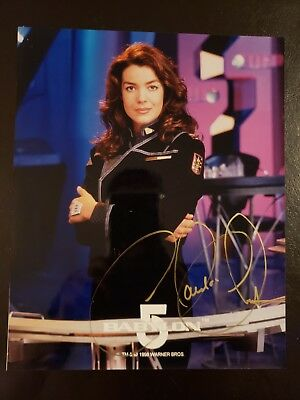 Claudia Christian - Babylon 5 Autographed 8x10 Photo