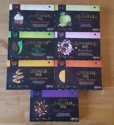 4 boxes of Slimming World hi-fi bars. Any of the 8 flavours *New Sticky Toffee**