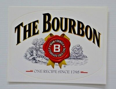 Jim Beam The Bourbon One Recipe Since 1795 Logo Brand New Decal Sticker